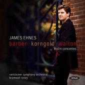 Barber, Korngold, Walton: Violin Concertos by Various Artists