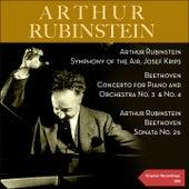Beethoven: Concertos for Piano and Orchestra No. 3, No. 4 & Piano Sonata No. 26 de Various Artists