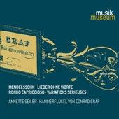 Mendelssohn: Lieder ohne Worte, Rondo capriccioso & Variations sérieuses by Annette Seiler
