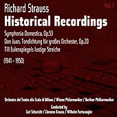 Richard Strauss: Historical Recordings, Volume 1 (1941 - 1950) by Orchestra del Teatro alla Scala di Milano