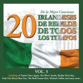 20 de la Mejor CancionesIrlandeses de Rebelde de Todos los Tiempos, Vol. 3 by Various Artists
