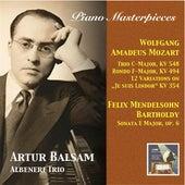 Piano Masterpieces: Artur Balsam Plays Mozart & Mendelssohn (2015 Digital Remaster) by Various Artists