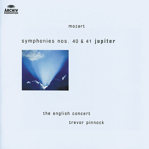 Mozart: Symphonies Nos.40 & 41 'Jupiter' by The English Concert