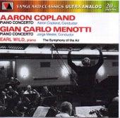 Copland & Menotti: Piano Concertos by Earl Wild