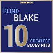 Masterpieces Presents Blind Blake: 10 Greatest Blues Hits von Blind Blake