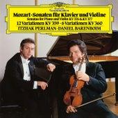 Mozart: Sonatas For Piano And Violin, K.376 & K.377; Variations K.359 & K.360 de Itzhak Perlman