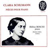 Clara Schumann: Pièces pour piano by Various Artists