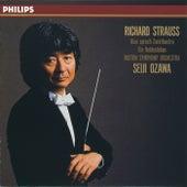 R. Strauss: Also Sprach Zarathustra/Ein Heldenleben by Seiji Ozawa