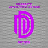Love Is What We Need von Firebeatz