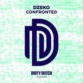 Confronted by Dzeko