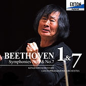 Beethoven: Symphony No. 1 & No. 7 by Czech Philharmonic Orchestra