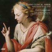 Todo ceda al amor. Música española del siglo XVIII by Hiro Kurosaki