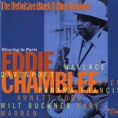 Blowing In Paris by Eddie Chamblee