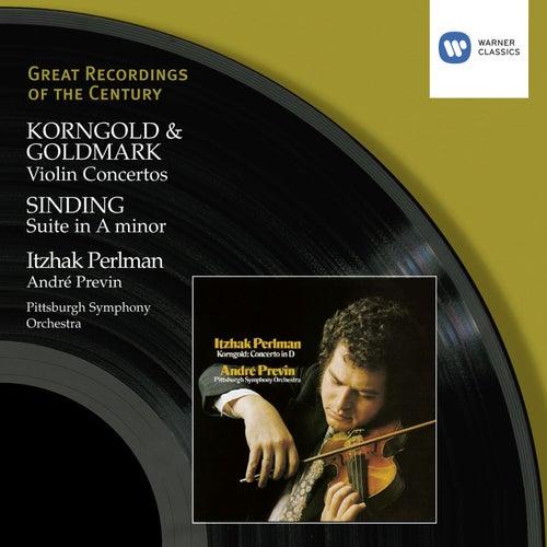 Korngold & Goldmark: Violin Concertos/Perlman, Previn by Andre Previn