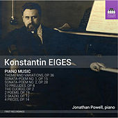 Eiges: Piano Music by Jonathan Powell