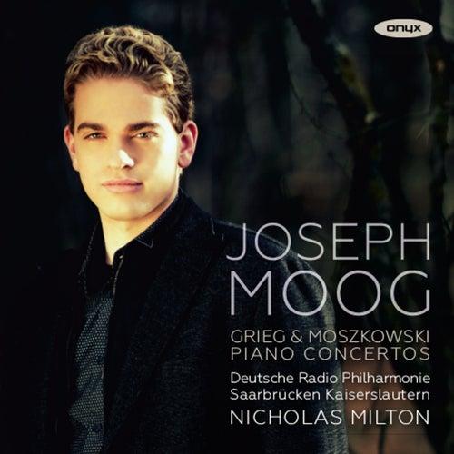 Grieg & Moszkowski: Piano Concertos by Joseph Moog