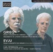 Grieg & Evju: Works for Piano von Carl Petersson