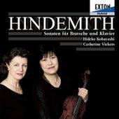 Hindemith: Sonaten fur Bratsche und Klavier by Catherine Vickers
