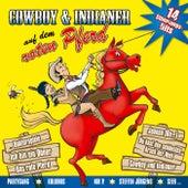 Cowboy und Indianer auf dem roten Pferd von Various Artists