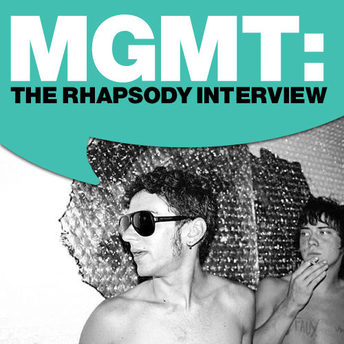 MGMT: The Rhapsody Interview by MGMT
