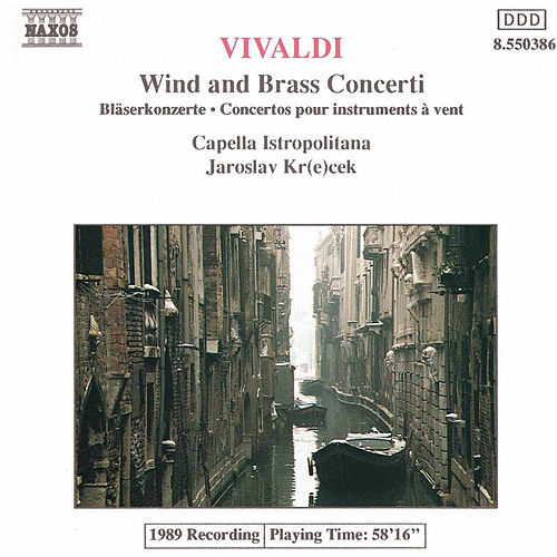 Wind and Brass Concerti by Antonio Vivaldi