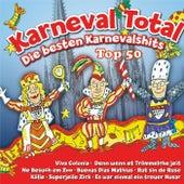 Karneval Total - Die besten Karnevalshits Top 50 von Various Artists