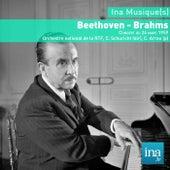 Beethoven - Brahms, Orchestre national de la RTF, C. Schuricht (dir) von Various Artists