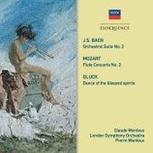 Bach, Gluck, Mozart: Music For Flute & Orchestra de Pierre Monteux