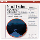 Mendelssohn: The Complete Symphonies Vol. 1 di London Philharmonic Orchestra
