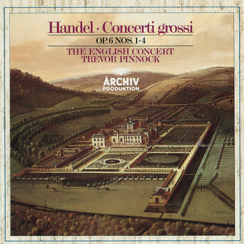 Handel: Concerti grossi Op. 6, Nos.1-4 by Simon Standage