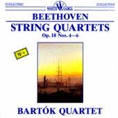 Beethoven: String Quartets, Op. 18, Nos. 4-6 by Bartok Quartet
