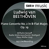 Beethoven: Piano Concerto No. 2 in B-Flat Major, Op. 19 (Live) de Wilhelm Kempff