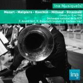 Mozart - Malipiero - Koechlin - Milhaud - Stravinski, Orchestre national de la RTF - F. André (dir) de Franz André