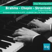 Brahms - Chopin - Stravinski, Orchestre national de la RTF - P. Kletzki (dir) de Paul Kletzki