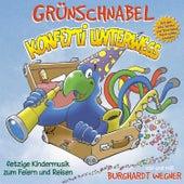 Konfetti Unterwegs - Fetzige Kindermusik Zum Feiern und Reisen von Grünschnabel