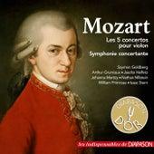 Mozart: Les 5 concertos pour violon & Symphonie concertante (Les indispensables de Diapason) by Various Artists