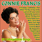 Connie Francis - 20 Unforgettable Songs de Connie Francis
