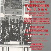 Beethoven :  Symphonies No.3,5 & 6 (recordings 1943 - 1947) by Wilhelm Furtwängler