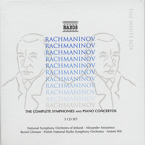 The Complete Symphonies and Piano Concertos by Sergei Rachmaninov