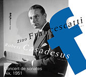 Concert de sonates (Aix, 1951) de Zino Francescatti