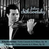 Khachaturian: Violin Concerto In D Minor, Op. 46 - Glazunov: Violin Concerto In A Minor, Op. 82 de Julian Sitkovetsky