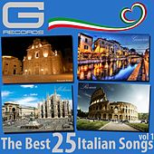 The Best 25 Italian Songs, Vol. 1 by Various Artists
