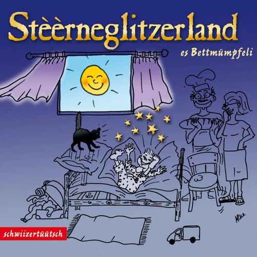 Stèèrneglitzerland - Es Bettmümpfeli by Claudia Wyss