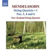 MENDELSSOHN: String Quartets, Vol. 1 - String Quartets Nos. 1, 4, 6 by New Zealand String Quartet