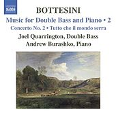 BOTTESINI: Music for Double Bass and Piano, Vol.  2 von Various Artists