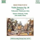 Violin Sonatas, Op. 30 Nos 1 - 3 di Ludwig van Beethoven
