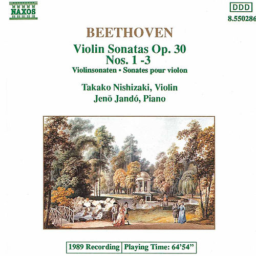 Violin Sonatas, Op. 30 Nos 1 - 3 by Ludwig van Beethoven