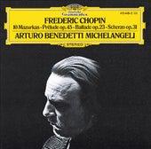 Chopin: 10 Mazurkas; Prélude Op.45; Ballade Op.23; Scherzo Op.31 de Arturo Benedetti Michelangeli