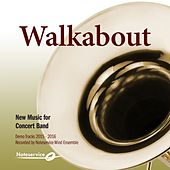 Walkabout - New Music for Concert Band - Demo Tracks 2015-2016 de Various Artists
