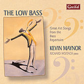 The Low Bass - Great Art Songs from the Bass Repertoire by Richard Woitach